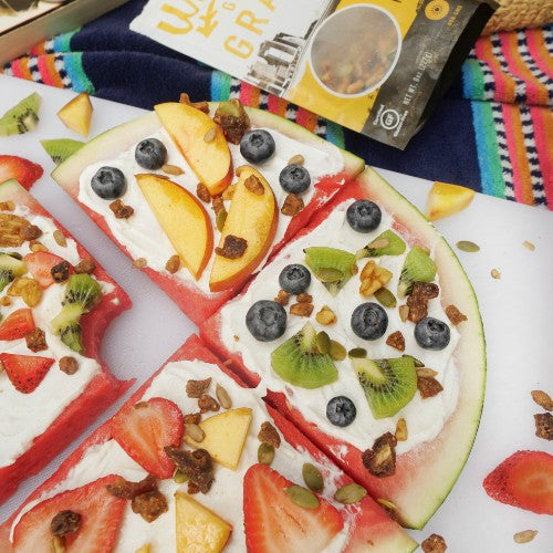 vegan watermelon fruit pizza recipe