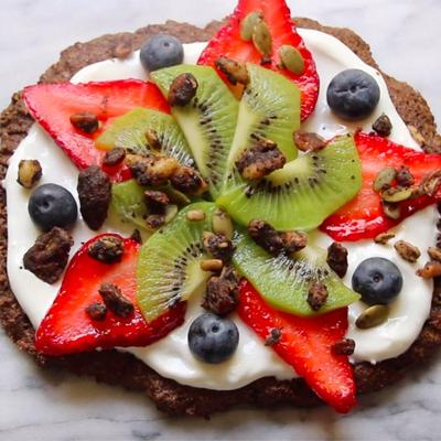grain free dessert pizza