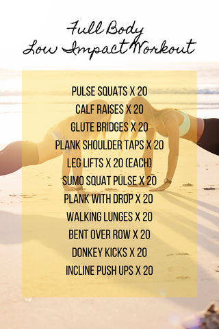 full body low impact workout