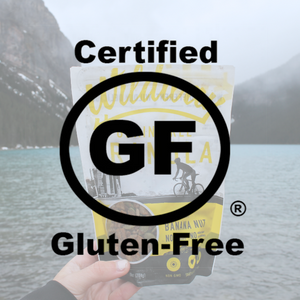 Wildway grain-free granola is certified gluten-free and manufactured in a dedicated gluten-free facility
