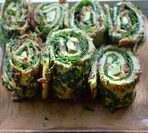 whole-30 breakfast roll ups