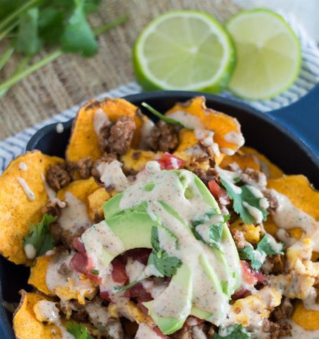 whole 30 brunch nachos