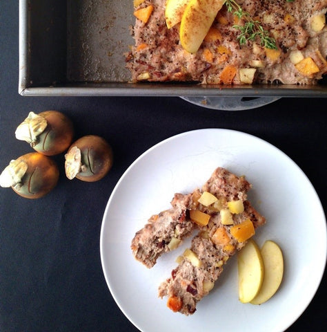 Whole 30 breakfast sausage with squash