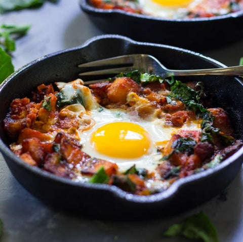 Whole 30 breakfast pizza hash