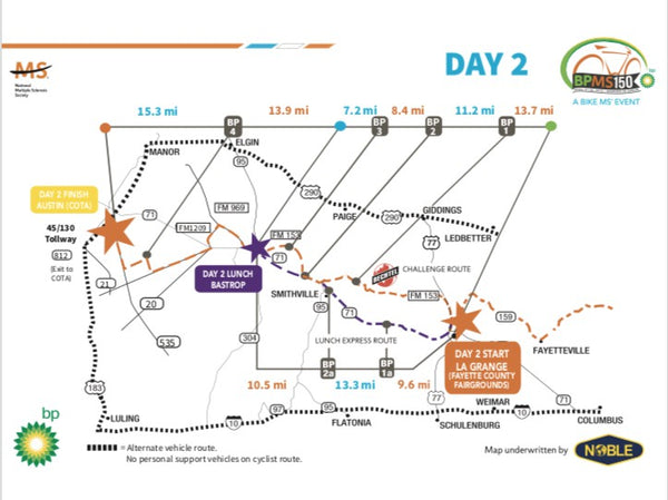 MS150 map