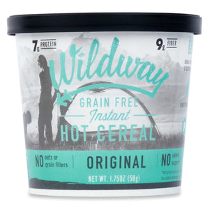 Grain-free, Vegan hot cereal cups by Wildway