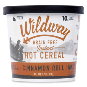 Grain-free Instant Keto Hot Cereal Single Serve Cups: Cinnamon Roll, 6 pack