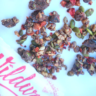 Grain-free Granola: Dark Chocolate Strawberry, 8oz