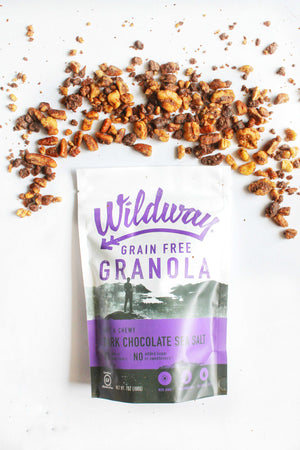 Vegan Dark Chocolate Sea Salt Granola