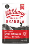 grain free granola snack pack apple cinnamon