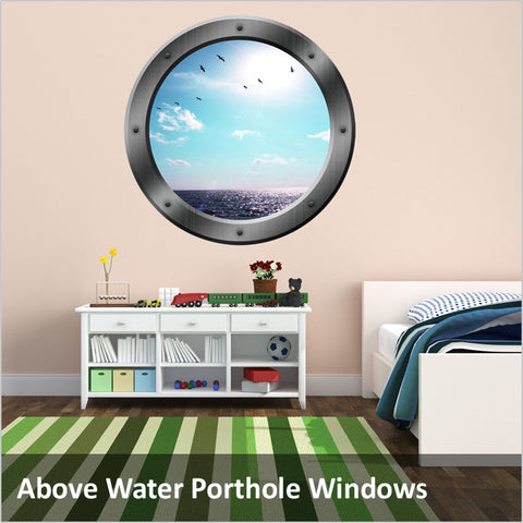 Above Water Ship Porthole Decals