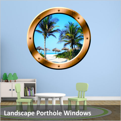 Landscape Porthole Windows