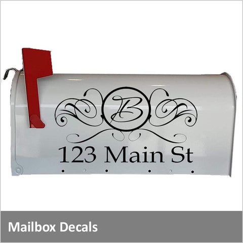 Custom Mailbox Decals