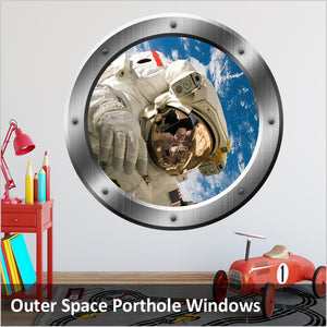 Outer Space Porthole Windows
