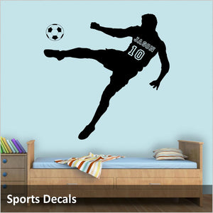 soccer wall decoration ideas