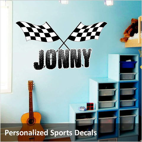 Personalized Sports Decals