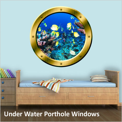 Underwater Porthole Windows