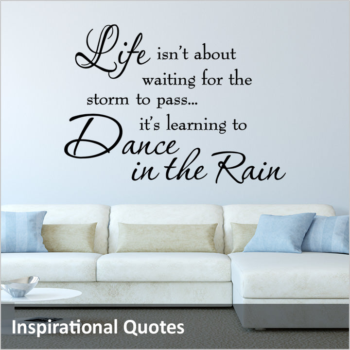 Inspirational Wall Quotes Decals