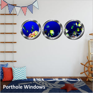 outer space vinyl wall decals