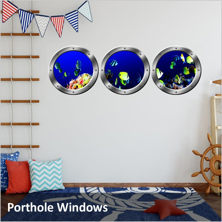 Porthole Window Decals