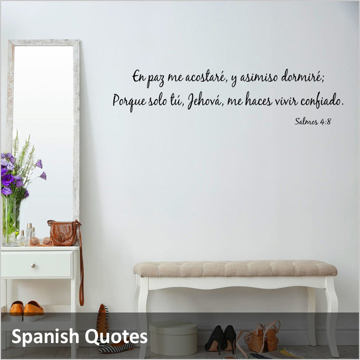 Spanish Wall Quotes Decals