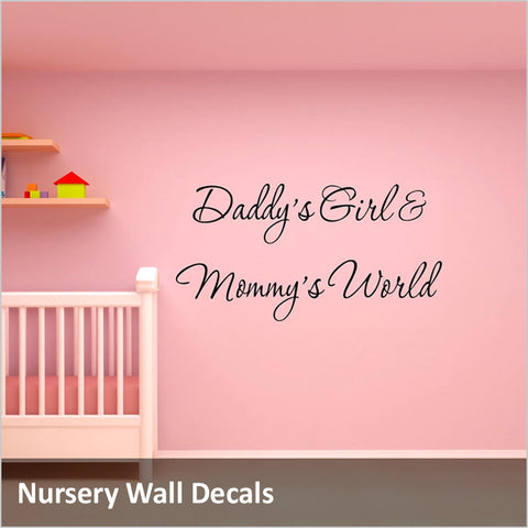Baby & Nursery Wall Quotes Decals