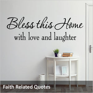 Faith Related Quotes Decals
