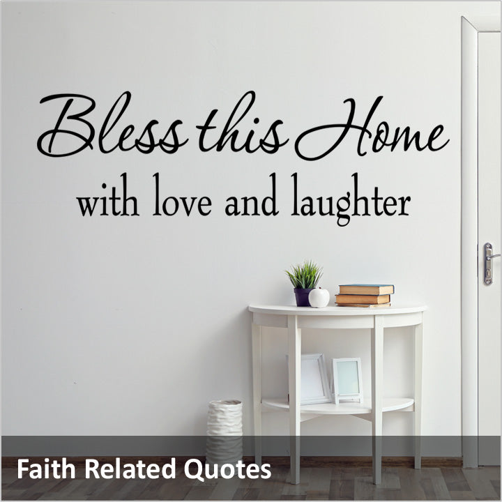 Faith Wall Quotes Decals