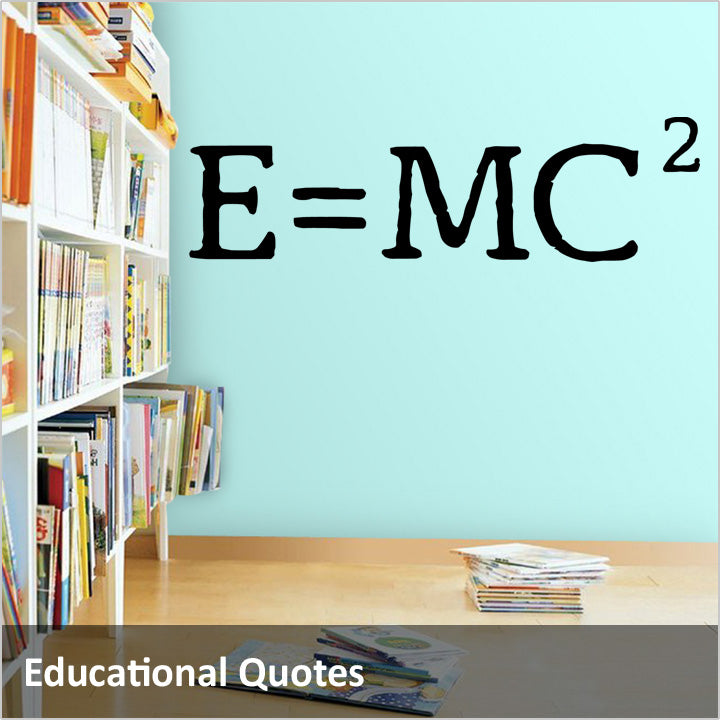 Educational, Historic and Political Quotes Wall Decals