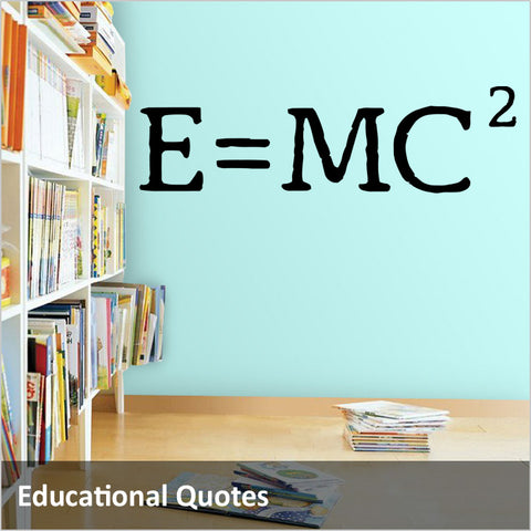 Educational Vinyl Wall Decals