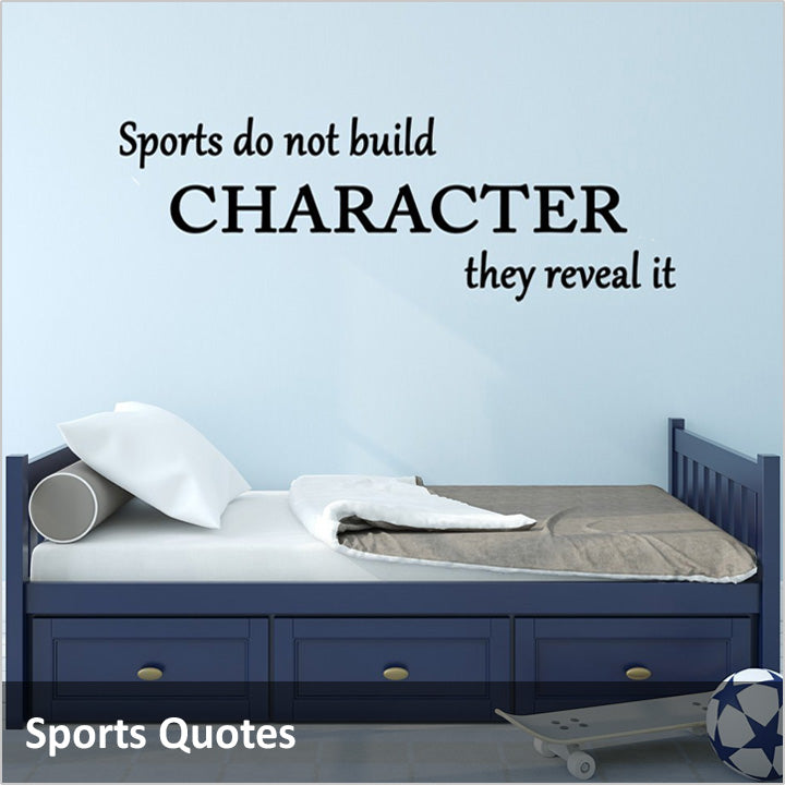 Sports Wall Quotes Decals