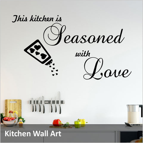 Kitchen Quote Decals