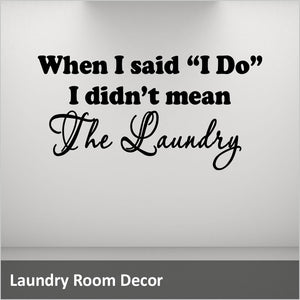 Laundry room decals Canada