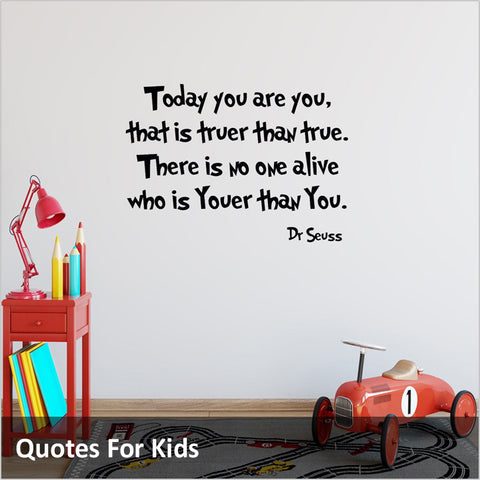 Kids Wall Quotes Decals