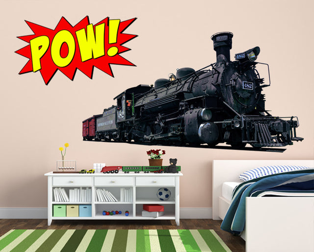 Shop Train Wall Decals