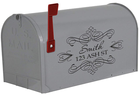 VWAQ Custom Mailbox Address Decal
