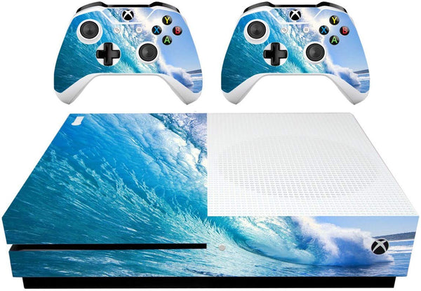 VWAQ Xbox One Slim Ocean Skins Decal Xbox One S Water Skin Covers - XSGC9 - VWAQ Vinyl Wall Art Quotes and Prints