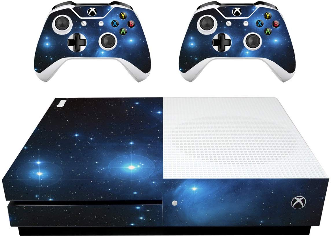 VWAQ Xbox One S Galaxy Decal XB1 Slim Space Wrap Skin Cover - XSGC1 - VWAQ Vinyl Wall Art Quotes and Prints