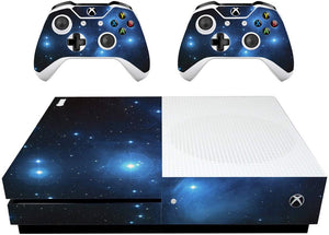 VWAQ Xbox One S Galaxy Decal XB1 Slim Space Wrap Skin Cover - XSGC1