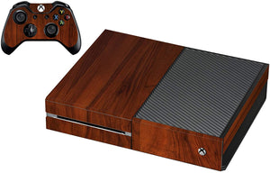 VWAQ Xbox One Wood Grain Skins For Console And Controller Wood Skin For Xbox One - XGC4 - VWAQ Vinyl Wall Art Quotes and Prints