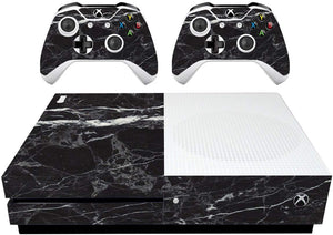 VWAQ Xbox One S Black Cover XB1 Slim Marble Skins for Console - XSGC6 - VWAQ Vinyl Wall Art Quotes and Prints