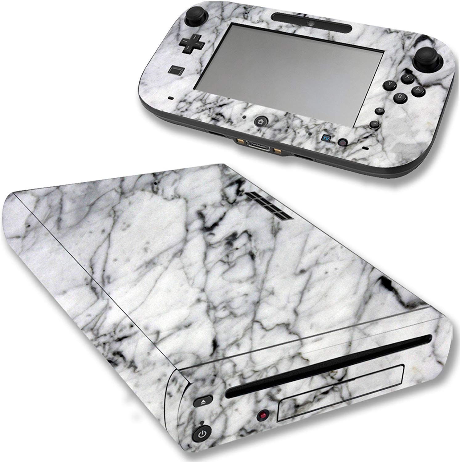 VWAQ Wii U Console Marble Skin Nintendo Wii U Decal Sticker Covers - WGC7 - VWAQ Vinyl Wall Art Quotes and Prints