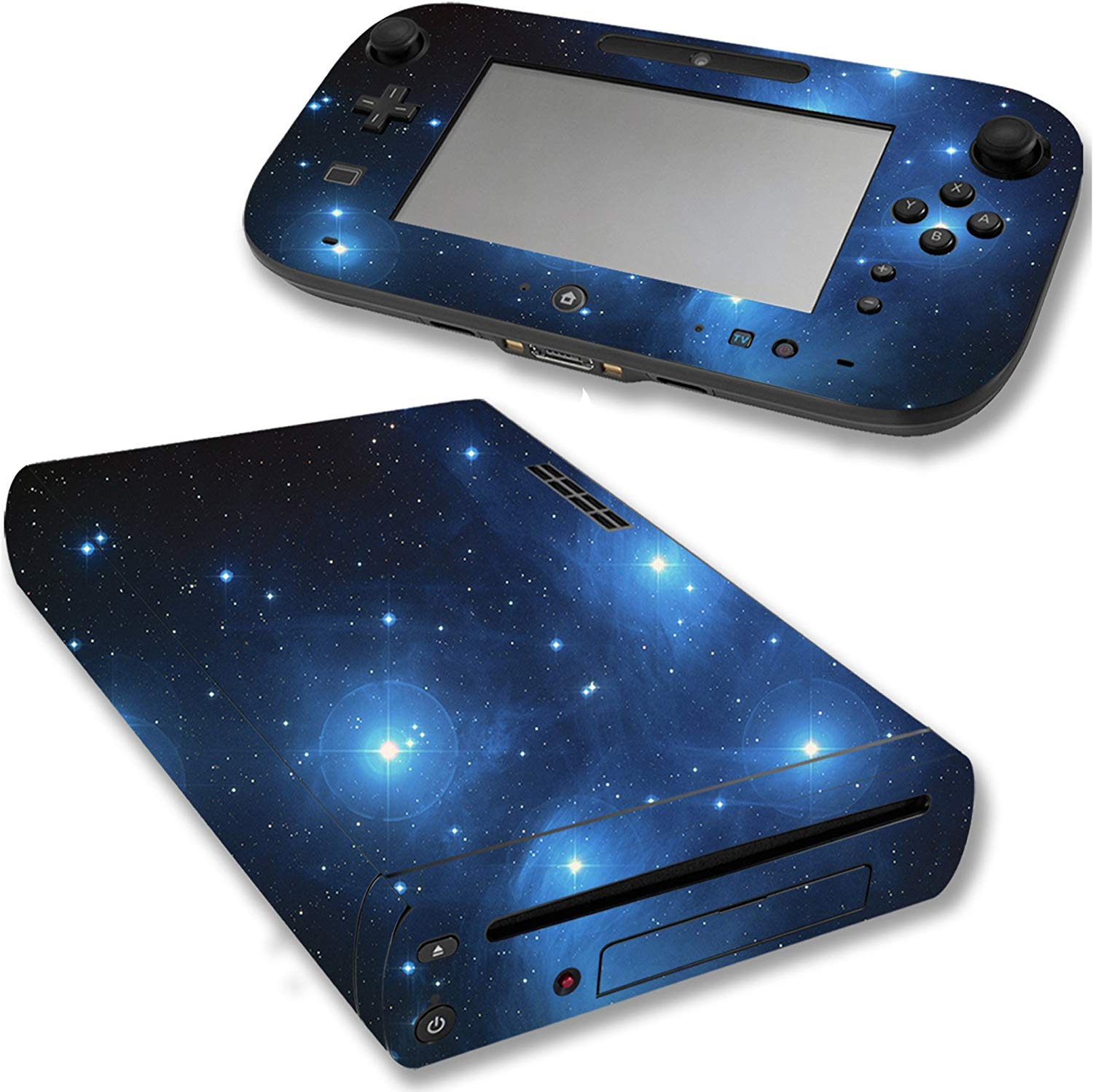 VWAQ Wii U Galaxy Skin Nintendo Wii U Sticker Space Skins Cover - WGC1 - VWAQ Vinyl Wall Art Quotes and Prints