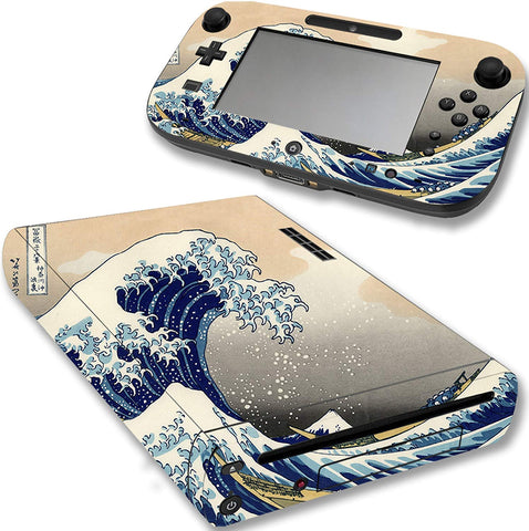 VWAQ The Great Wave Off Kanagawa Nintendo Wii U Skin Decal Cover - WGC8 - VWAQ Vinyl Wall Art Quotes and Prints