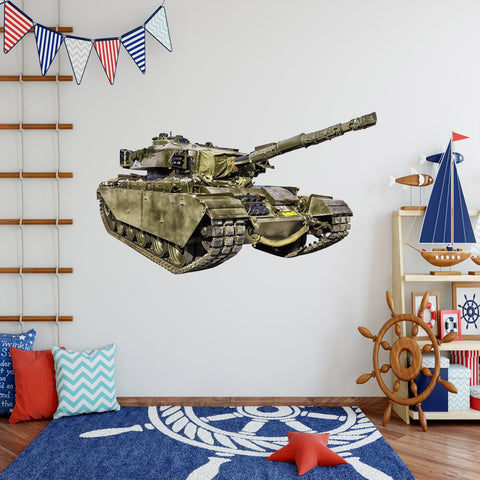 VWAQ Army Tank Wall Decals Military Wall Decor - PAS15 - VWAQ Vinyl Wall Art Quotes and Prints