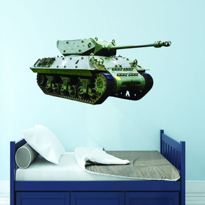 Army Tank Wall Decal