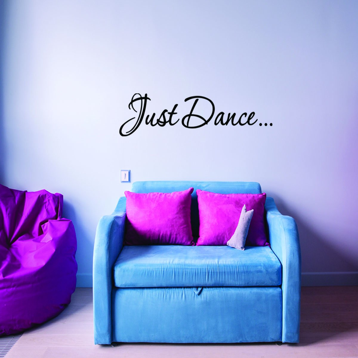 VWAQ Just Dance Vinyl Wall Decal - VWAQ Vinyl Wall Art Quotes and Prints