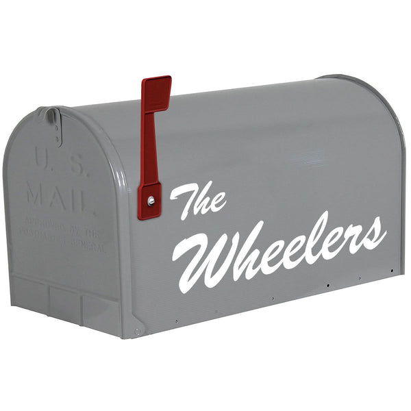 VWAQ Mailbox Custom Name Decal - Personalized Mailbox Name Letters Sticker - CMB14 - VWAQ Vinyl Wall Art Quotes and Prints