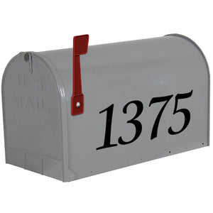 VWAQ Customized Mailbox Numbers Decal - Personalized Street Address Vinyl Stickers - CMB17 - VWAQ Vinyl Wall Art Quotes and Prints