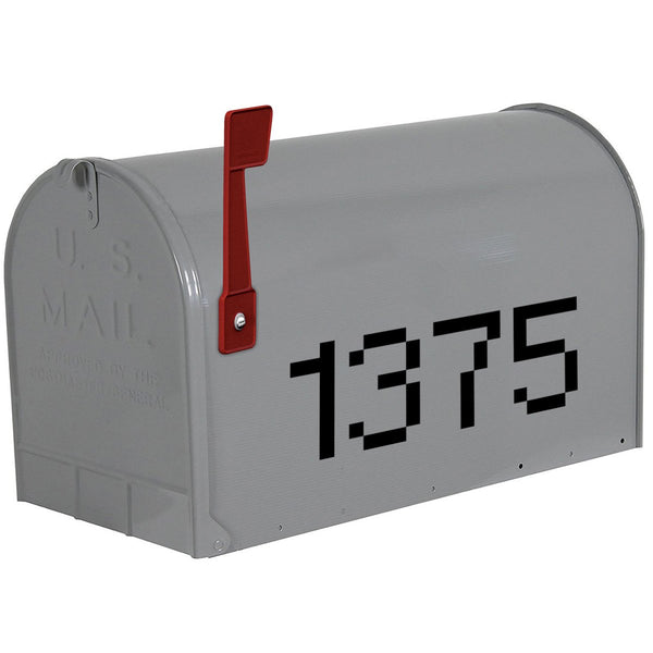VWAQ Mailbox Custom Address Decal - Personalized House Numbers - CMB26